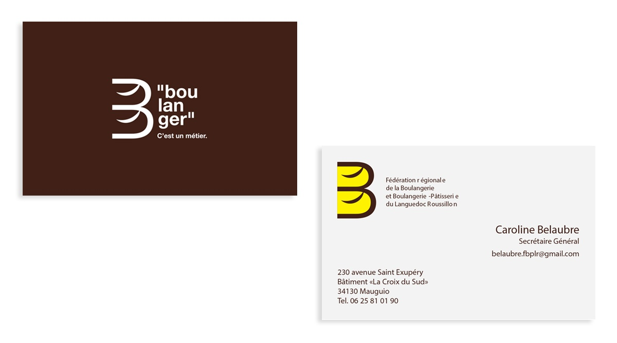 creation cartes de visite boulangerie