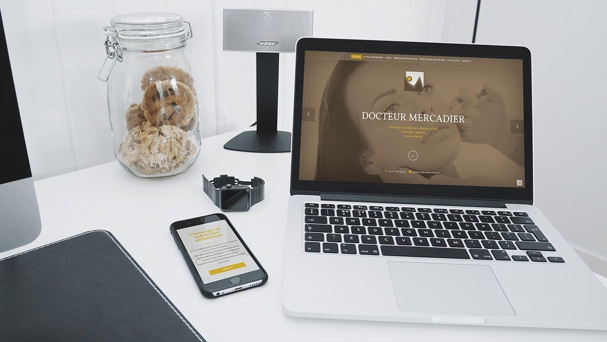 creation site chirurgien esthetique