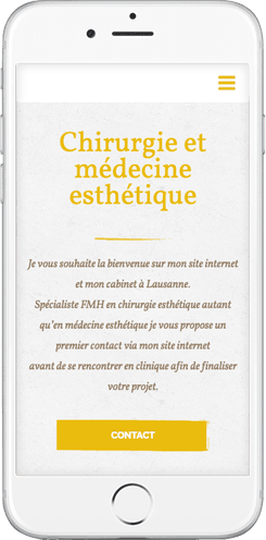 creation site chirurgien esthetique