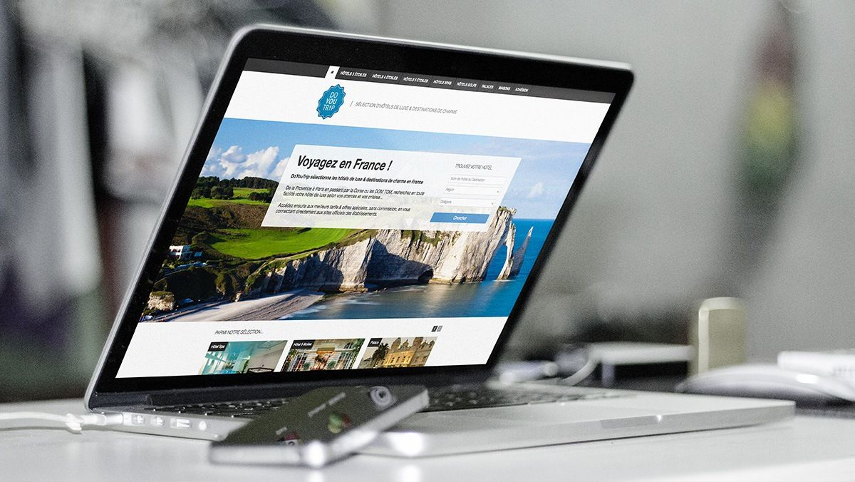 creation site internet hotellerie de luxe