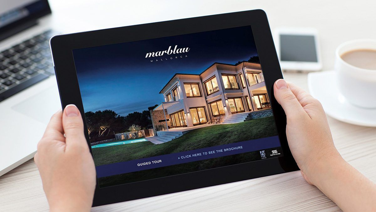 creation site internet immobilier luxe