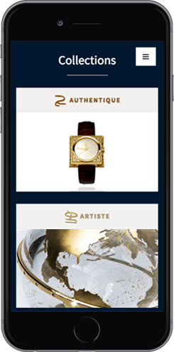 creation site mobile luxe