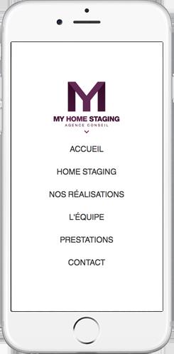 creation site mobile sur mesure