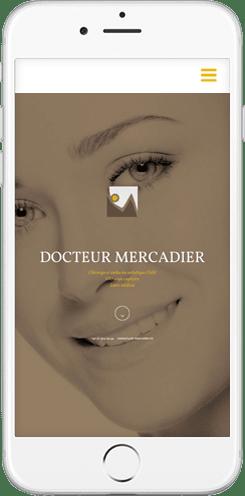 creation site web chirurgien esthetique