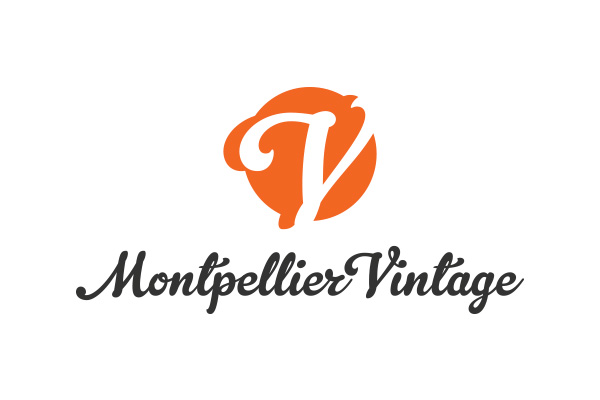 logo montpellier vintage