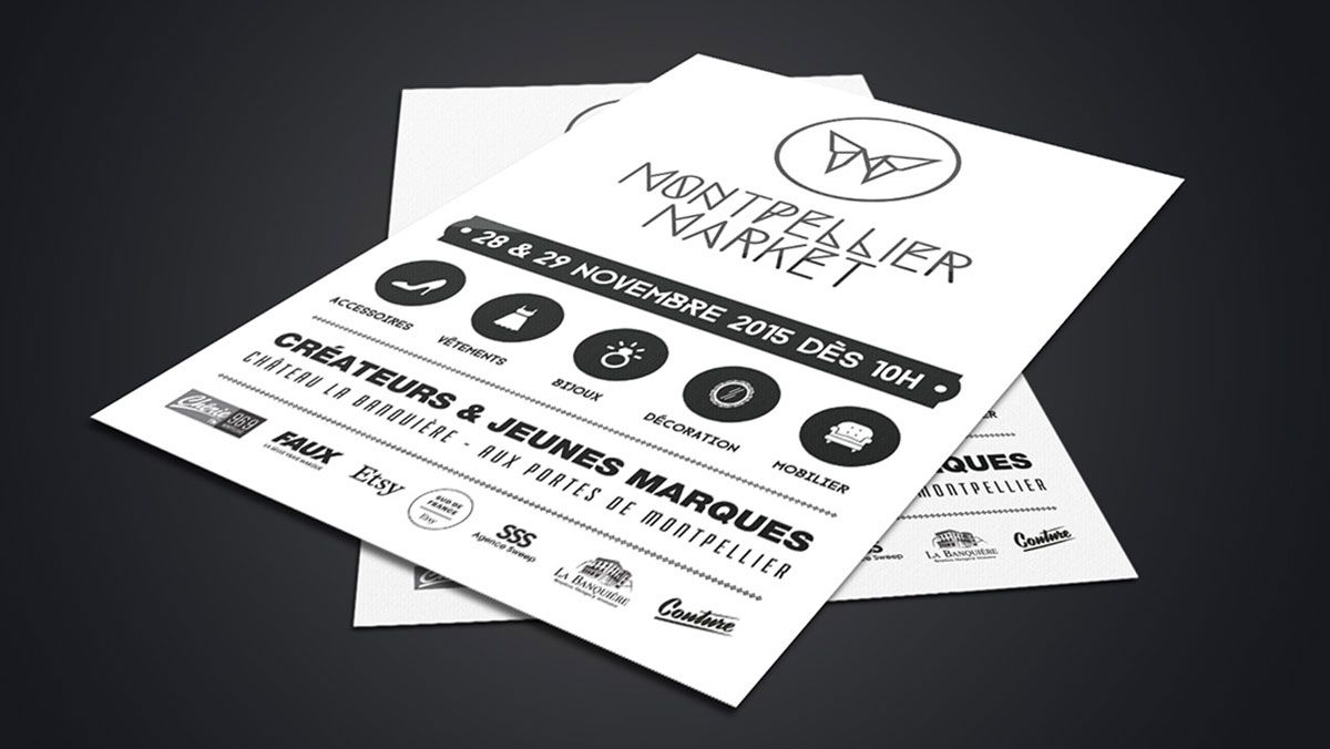 creation flyers montpellier