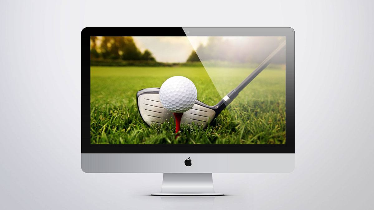cr ation site internet golf site web golfs agence sweep. Black Bedroom Furniture Sets. Home Design Ideas