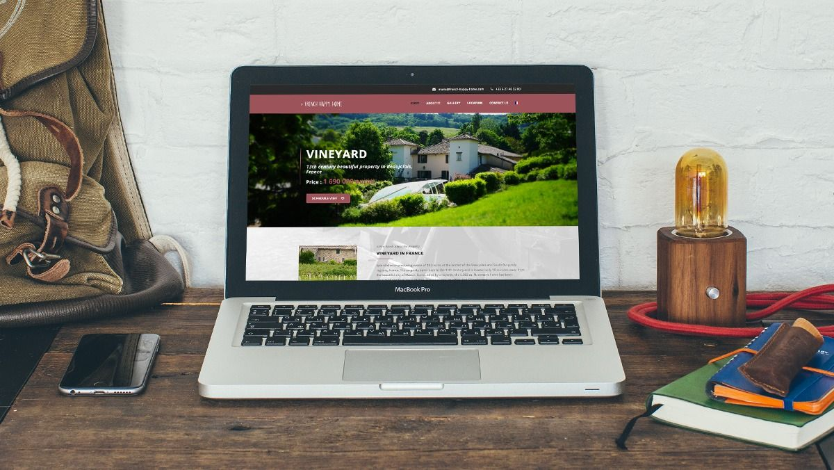 creation site internet vignobles