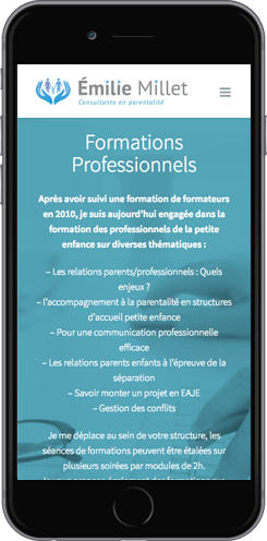 conception site smartphone montpellier
