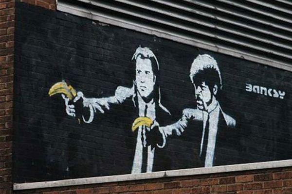 oeuvre street art banksy