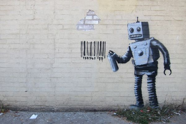 banksy-robots