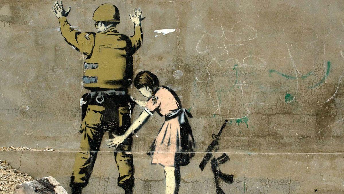 banksy-soldat-fillette