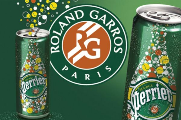 communication perrier roland garros