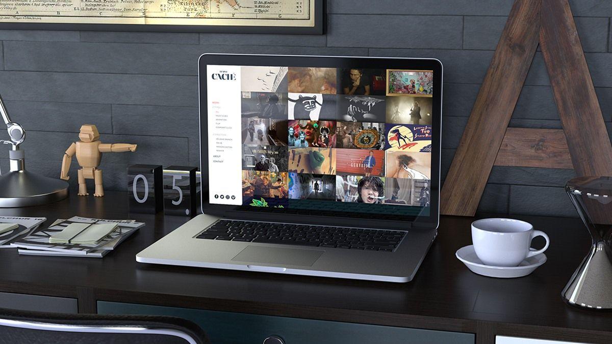 creation site internet studio de production clip