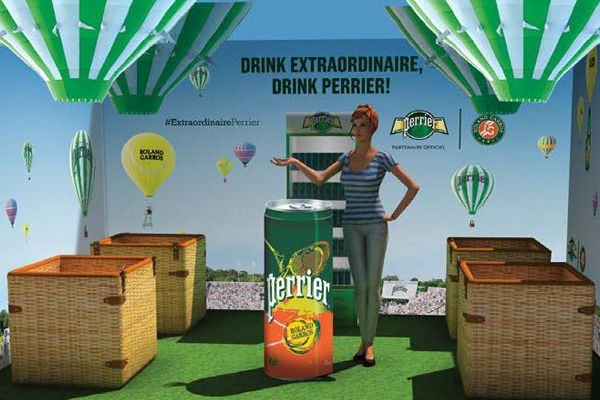 perrier marketing