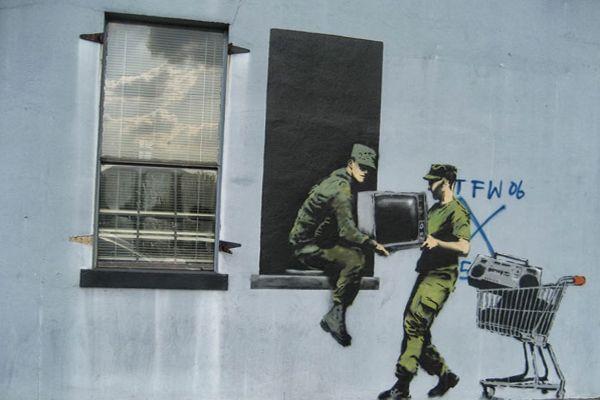 soldats banksy