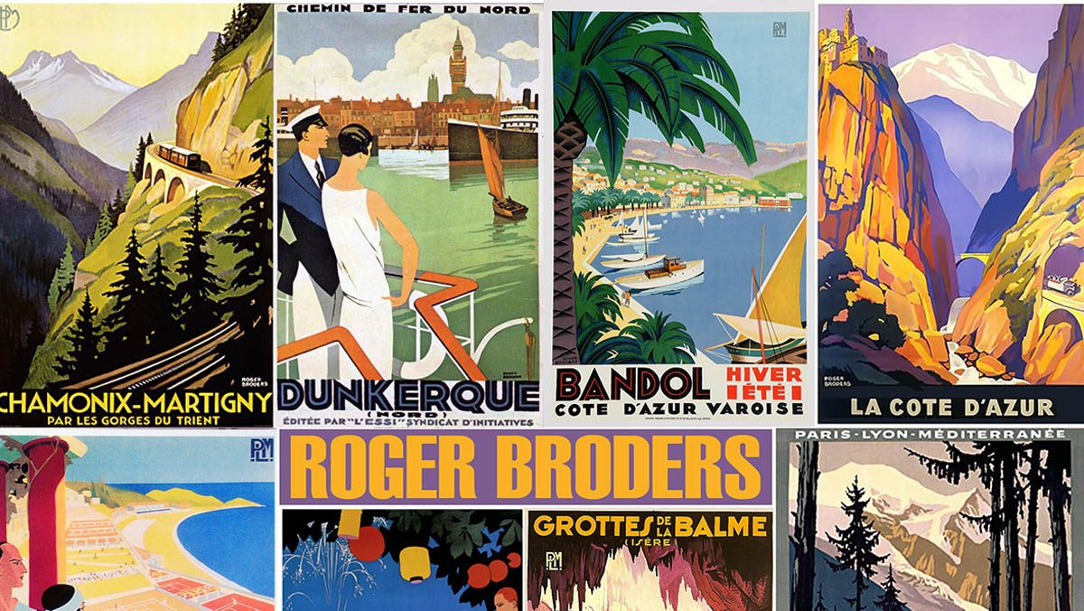 affiches roger broders