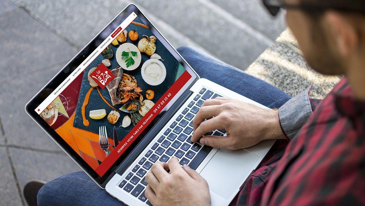 conception site internet restaurant montpellier