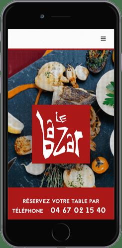 creation site mobile restaurant montpellier