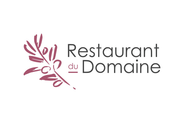conception de logo restaurant du domaine