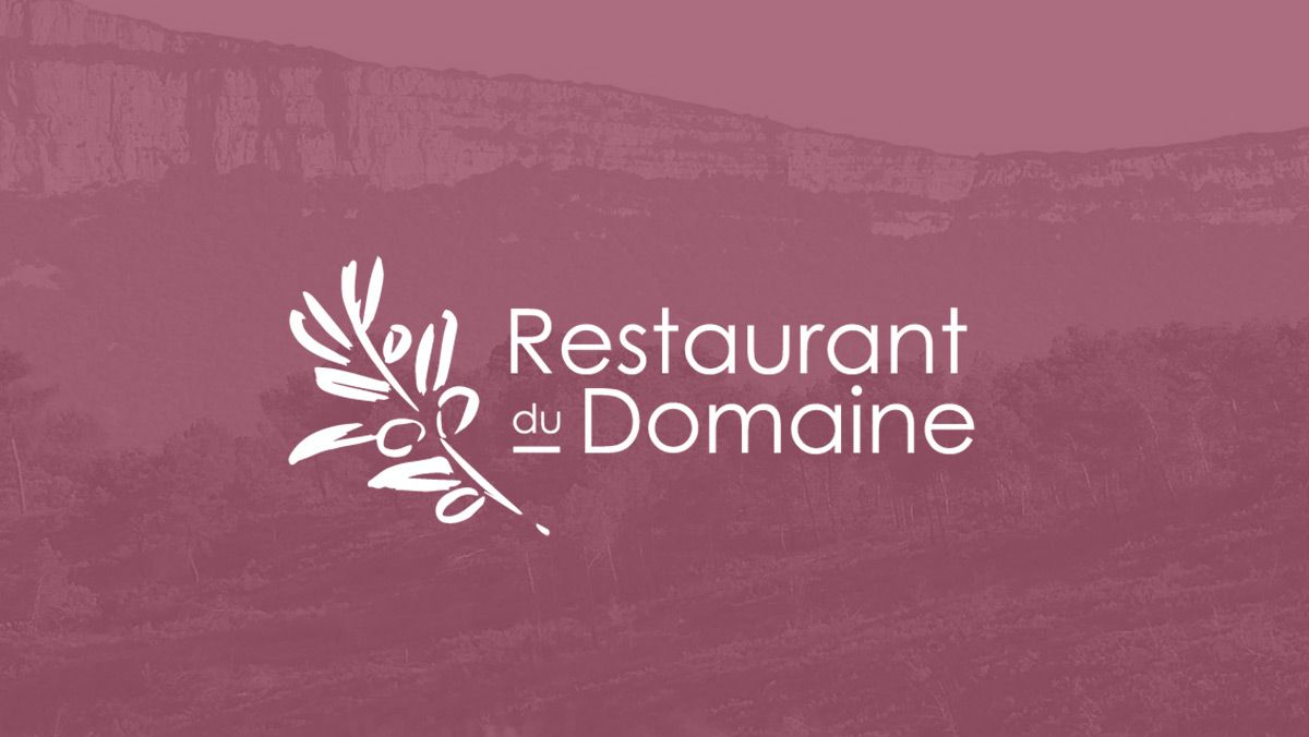 creation logo restaurant du domaine