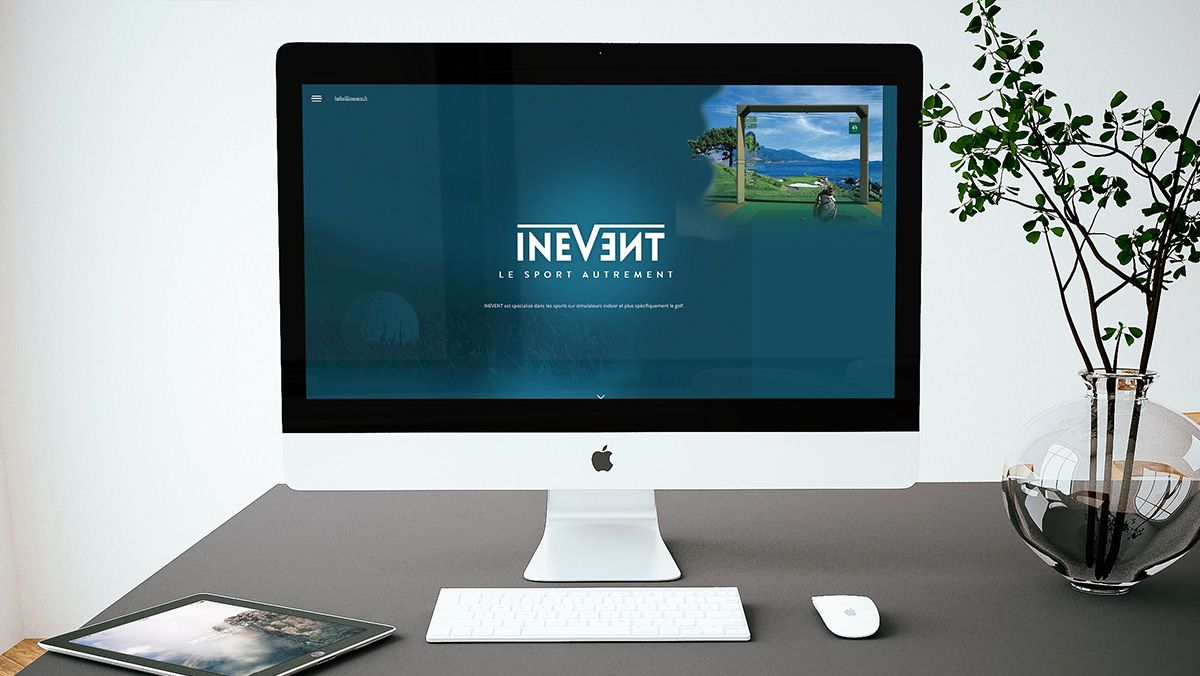 creation site web simulateur golf