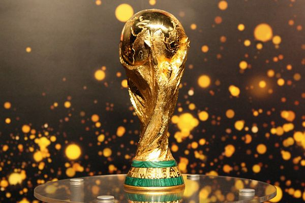 trophée coupe du monde 2018