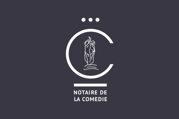 conception logo office notarial montpellier