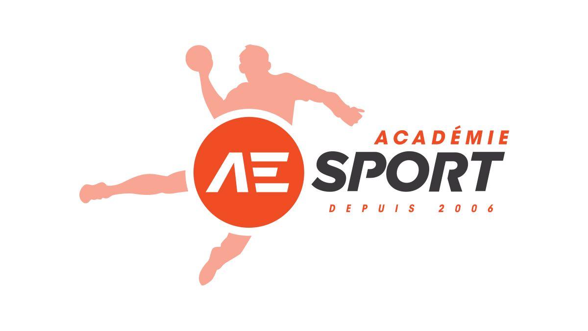 creation logo academie sport