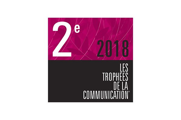 trophee de la communication 2018