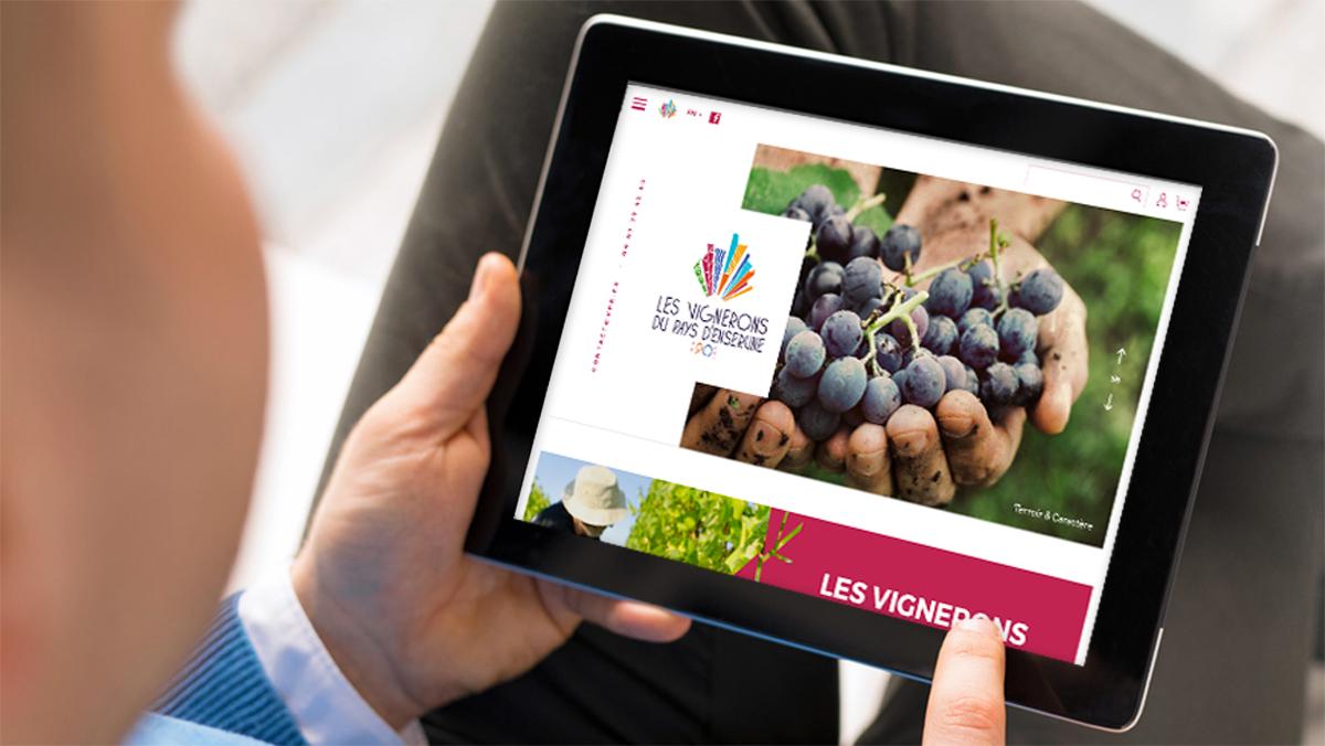 agence digitale vignoble languedoc