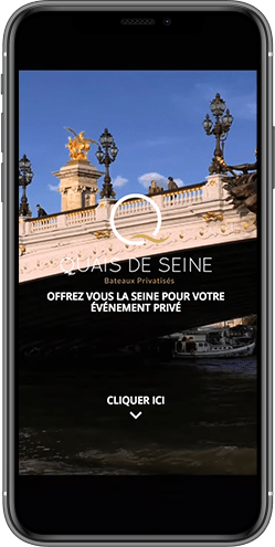 creation site mobile paris seine