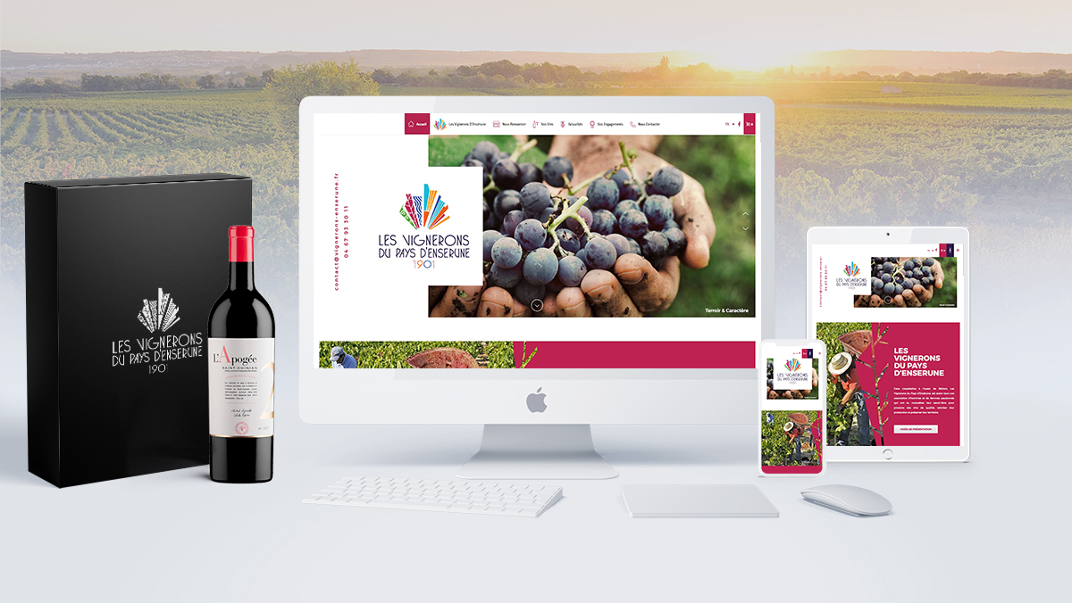 referencement site web vins languedoc