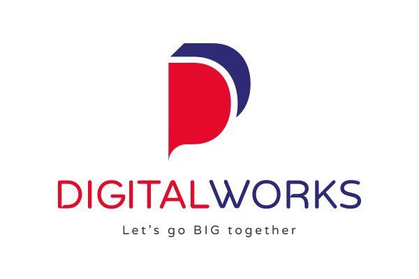 refonte logo digital works montpellier