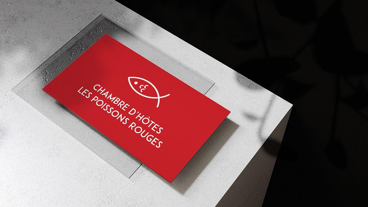 creation cartes de visite chambre hotes perols