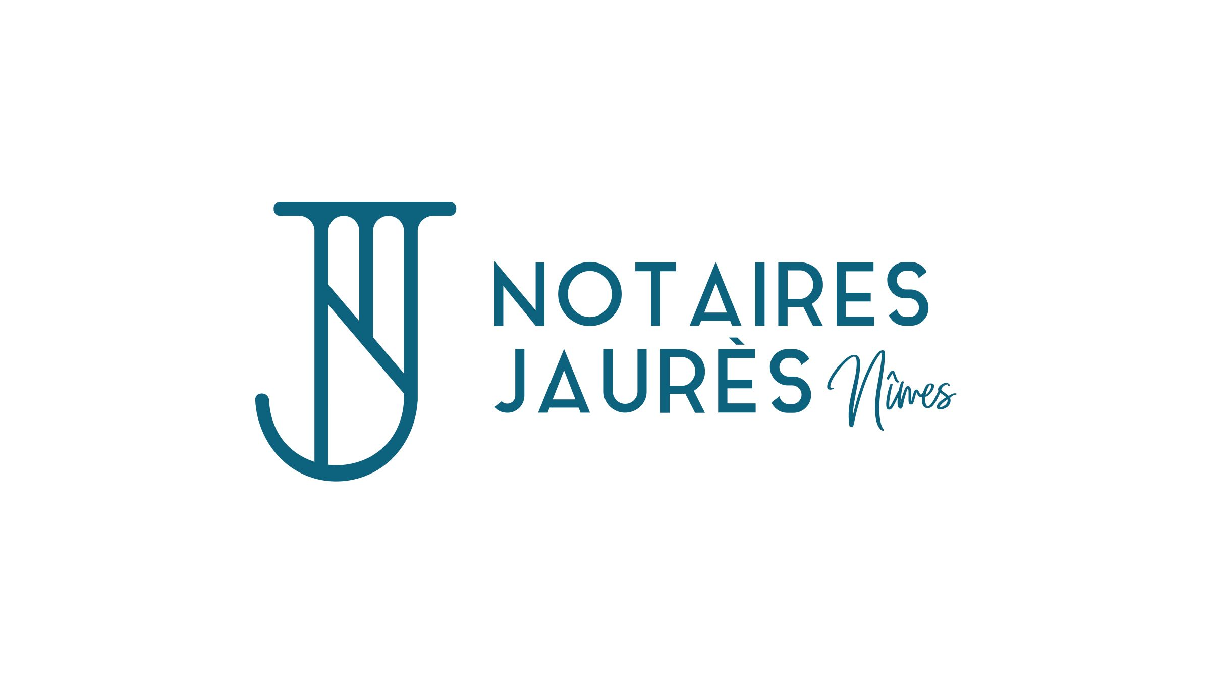 creation logo office notarial nimes