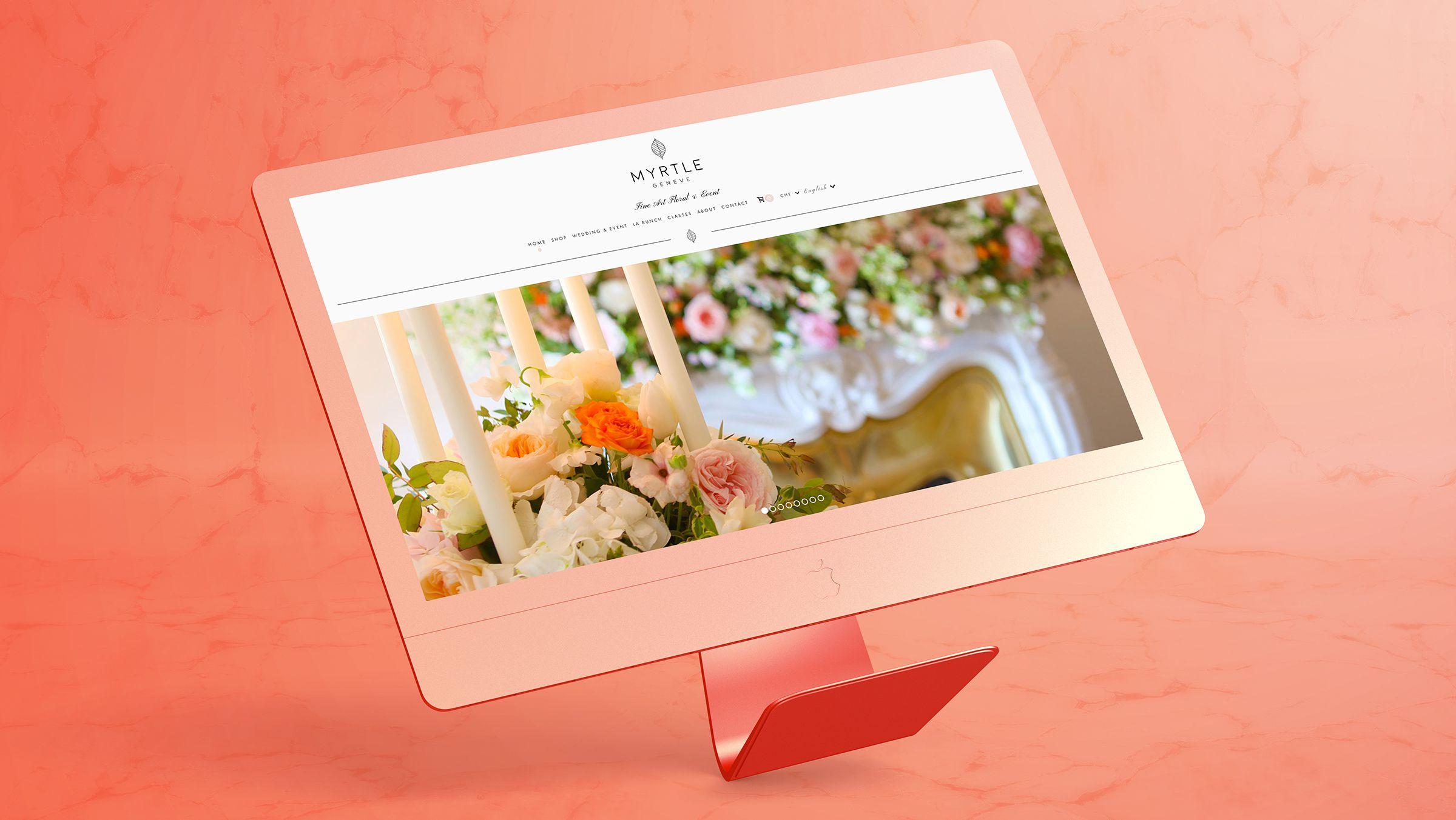site internet fleuriste geneve