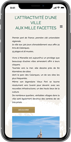 creation site mobile promoteur marseille