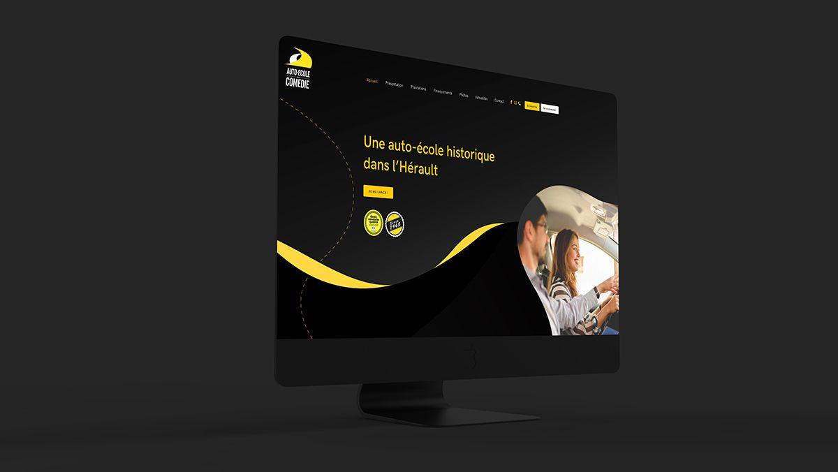 creation site internet auto ecole monptellier
