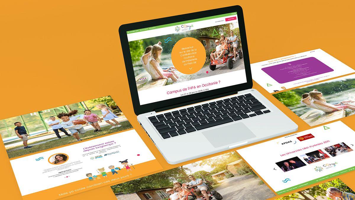 creation site internet hotellerie de plein air