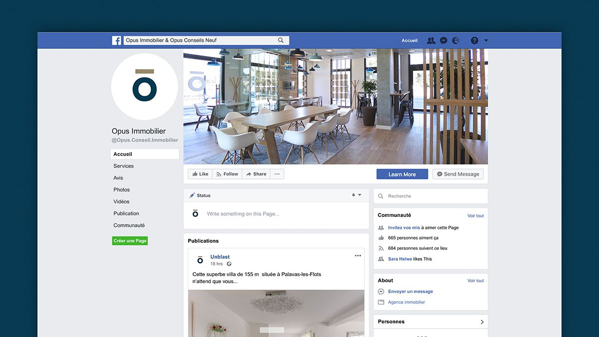 campagne facebook immobilier montpellier