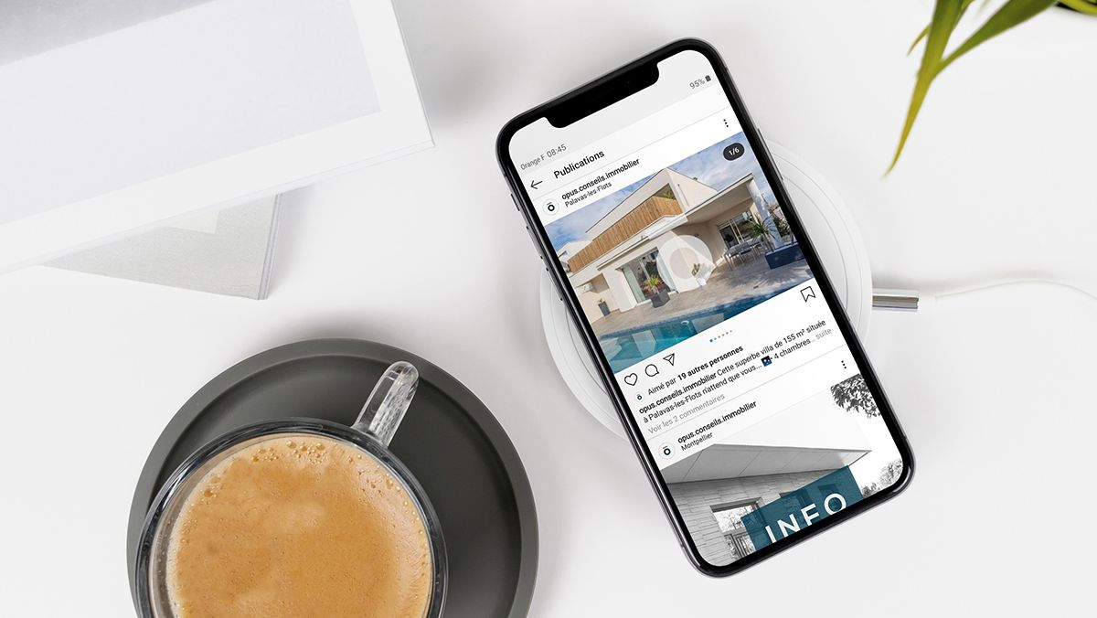 campagne instagram agence immobiliere montpellier