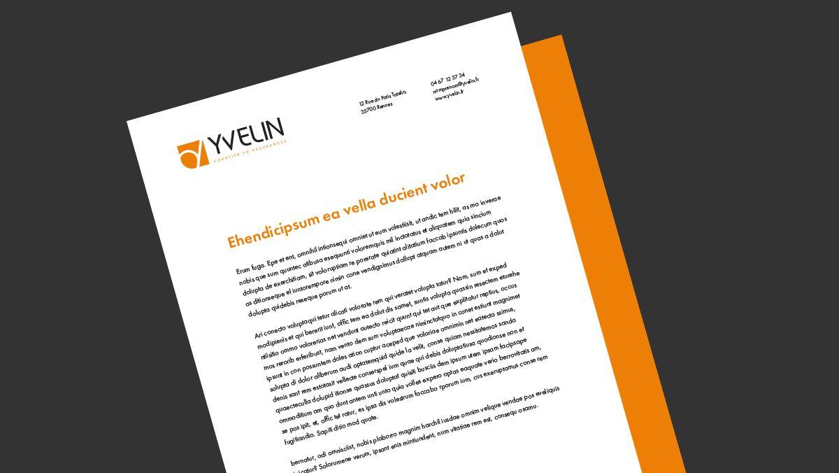 creation papier a lettre courtier montpellier