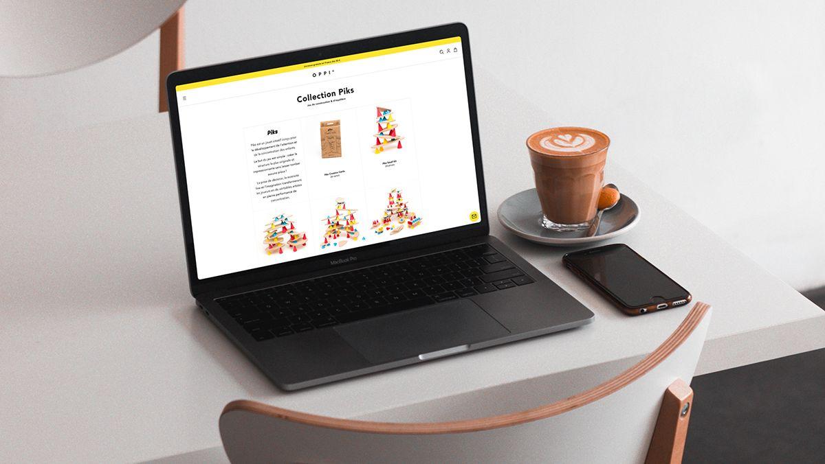 conception boutique en ligne jouets pour enfants