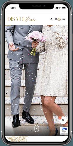 creation site e commerce mariage