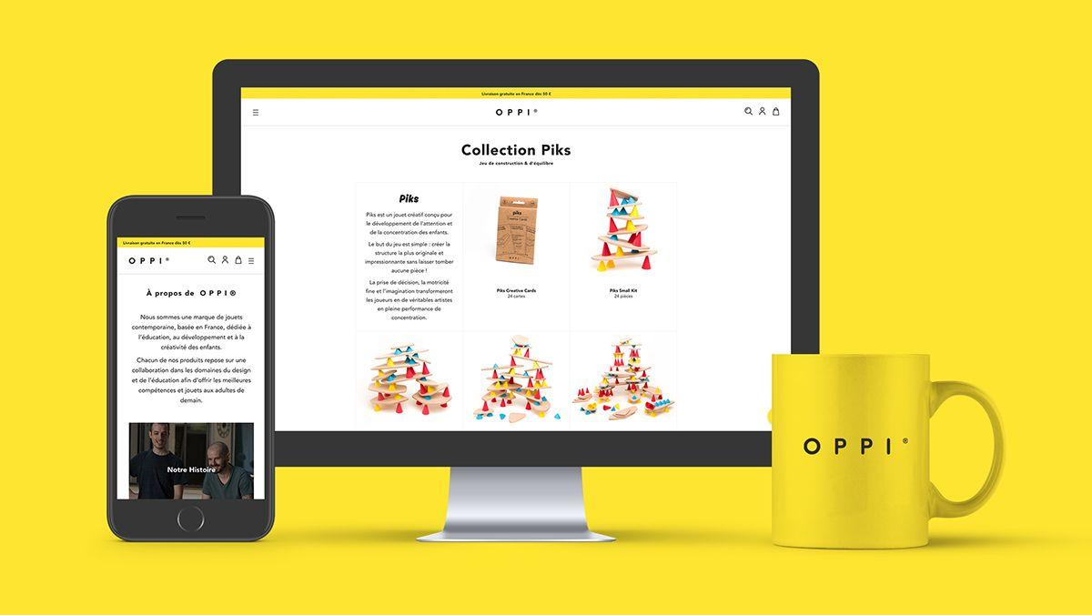 realisation boutique en ligne jouets pour enfants