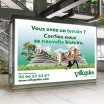 campagne affichage les villegiales