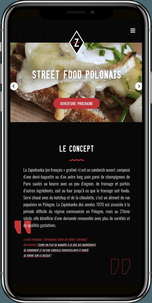 developpement site mobile restaurant montpellier