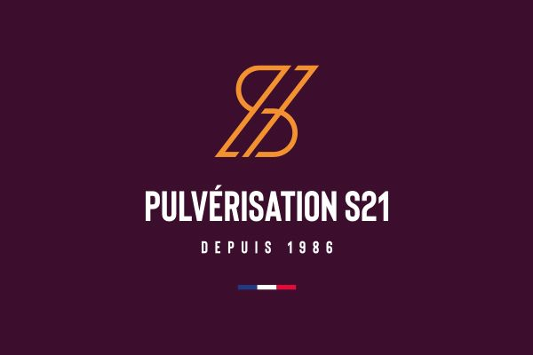 creation logotype pulverisation s21