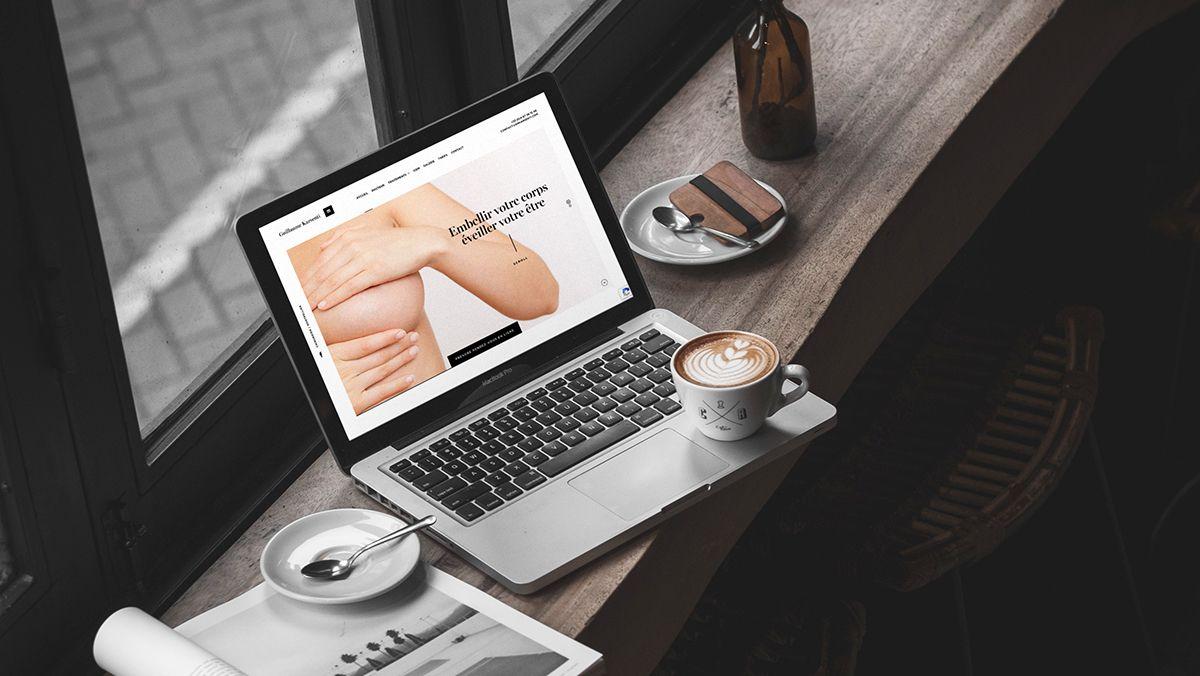 conception site internet chirurgien esthetique montpellier